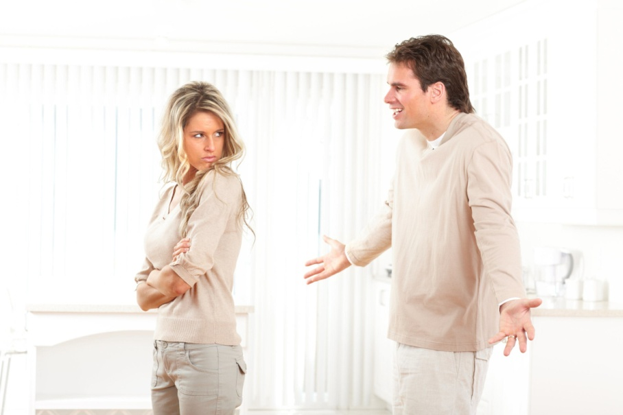 Wife angry