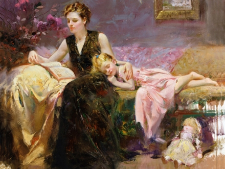 Precious-Moments-by-Artist-Pino-Daeni-Artwork